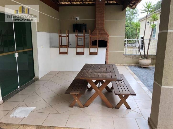 apartamento com 2 dormitórios à venda, 52 m² por r$ 195.000,00 - alto ipiranga - mogi das cruzes/sp - ap0090
