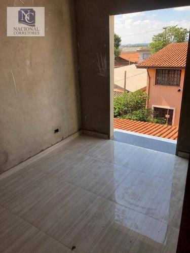 apartamento com 2 dormitórios à venda, 52 m² por r$ 232.000 - vila pires - santo andré/sp - ap8028