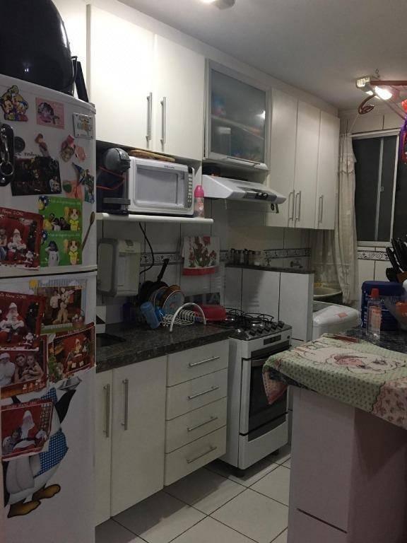 apartamento com 2 dormitórios à venda, 52 m² por r$ 249.000,00 - vila industrial - campinas/sp - ap18333