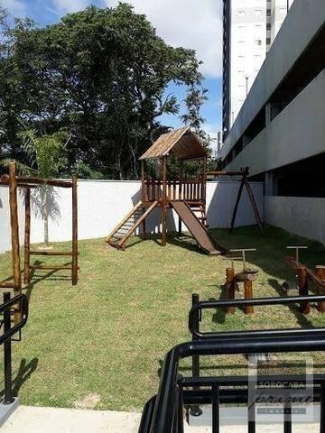 apartamento com 2 dormitórios à venda, 52 m² por r$ 260.000 - edifício platinum - parque campolim - sorocaba/sp, ao lado do shopping iguatemi. - ap0166