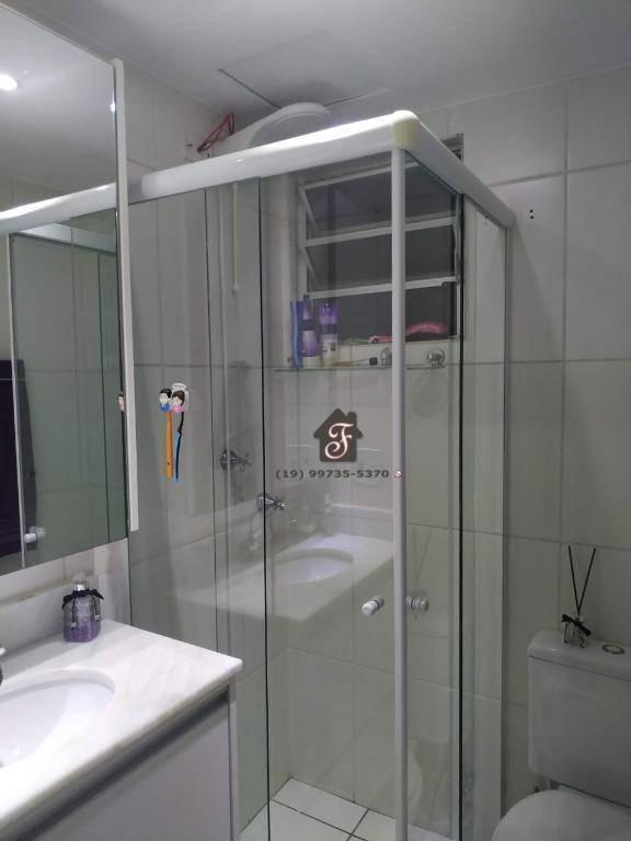 apartamento com 2 dormitórios à venda, 52 m² por r$ 270.000,00 - jardim nova europa - campinas/sp - ap1621
