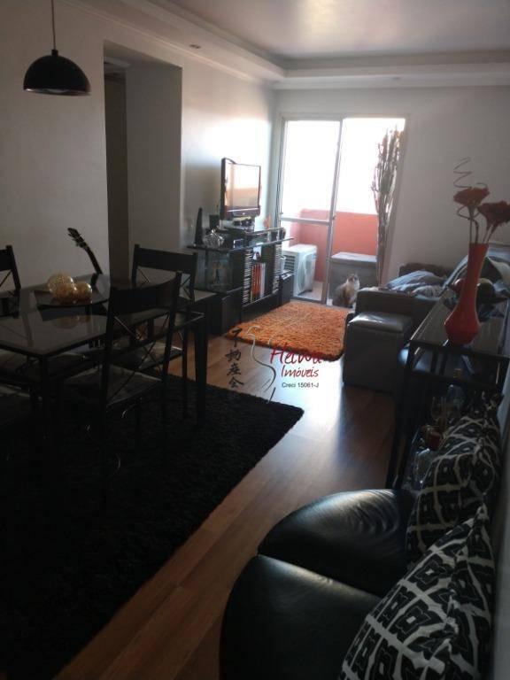 apartamento com 2 dormitórios à venda, 52 m² por r$ 275.000,00 - vila mangalot - são paulo/sp - ap0430
