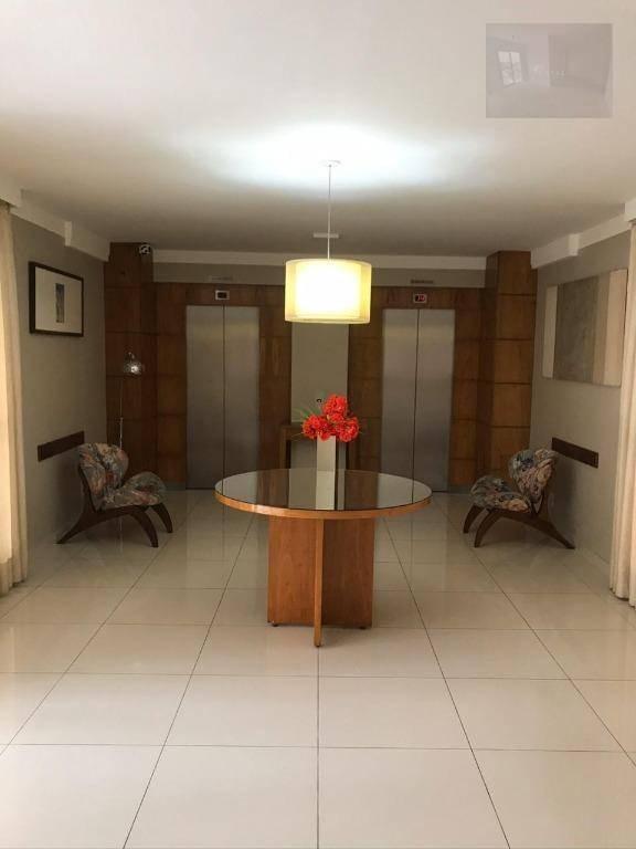 apartamento com 2 dormitórios à venda, 52 m² por r$ 335.000 - casa branca - santo andré/sp - ap1998