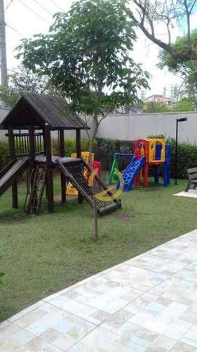apartamento com 2 dormitórios à venda, 52 m² por r$ 369.000 - vila prudente - são paulo/sp - ap0780