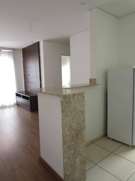 apartamento com 2 dormitórios à venda, 53 m² por r$ 175.000,00 - piracicamirim - piracicaba/sp - ap3601