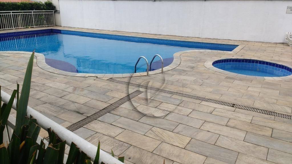 apartamento com 2 dormitórios à venda, 53 m² por r$ 290.000,00 - vila homero thon - santo andré/sp - ap7488
