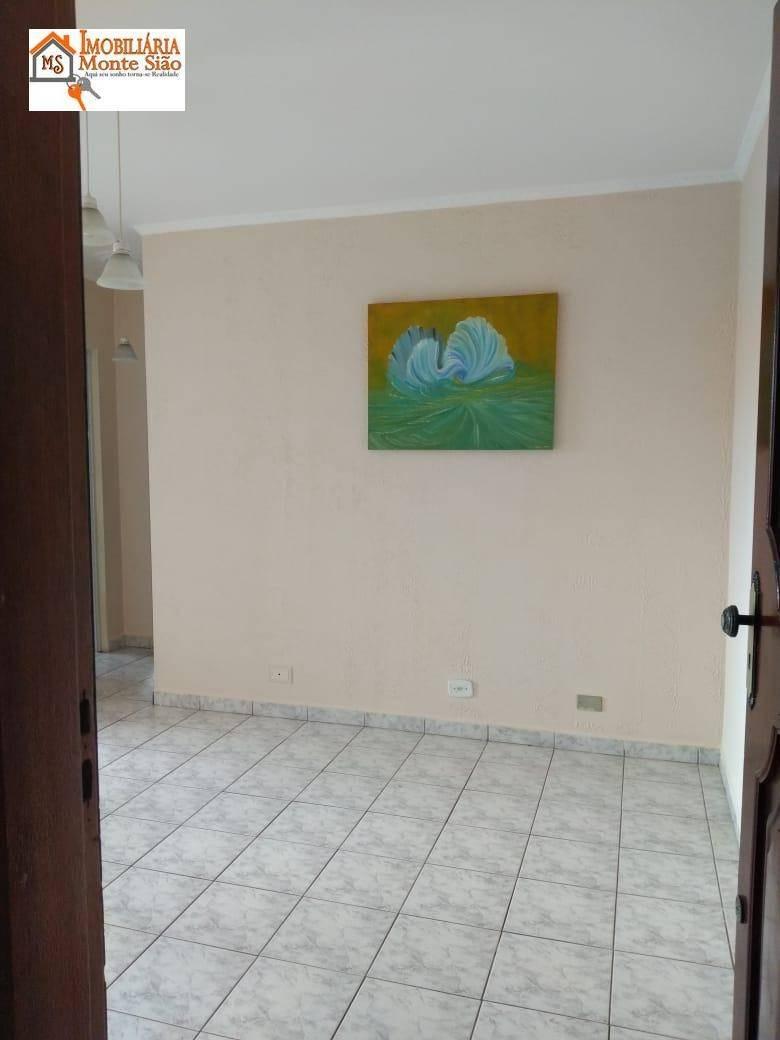 apartamento com 2 dormitórios à venda, 54 m² por r$ 139.900,00 - centro - guarulhos/sp - ap1696