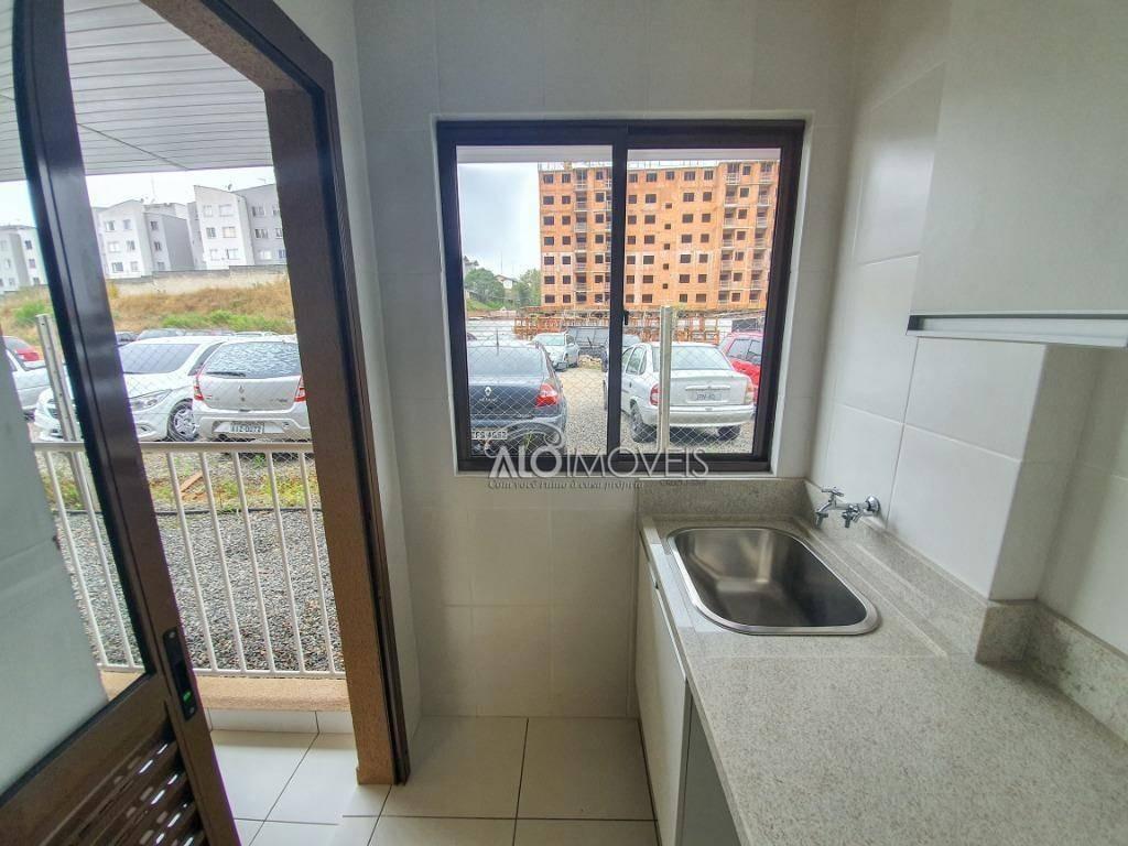 apartamento com 2 dormitórios à venda, 54 m² por r$ 159.950 - aristocrata - são josé dos pinhais/pr - ap0240