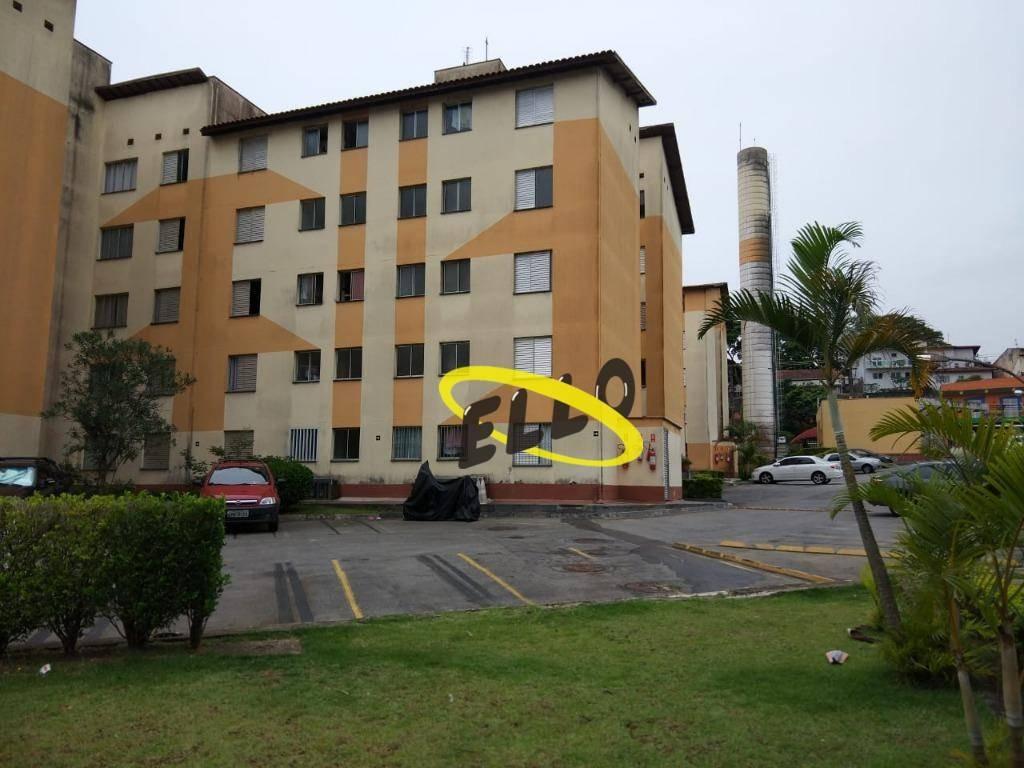 apartamento com 2 dormitórios à venda, 54 m² por r$ 180.000 - jardim da glória - cotia/sp - ap1710