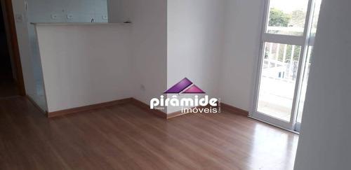 apartamento com 2 dormitórios à venda, 54 m² por r$ 190.000 - jardim satélite - são josé dos campos/sp - ap10640