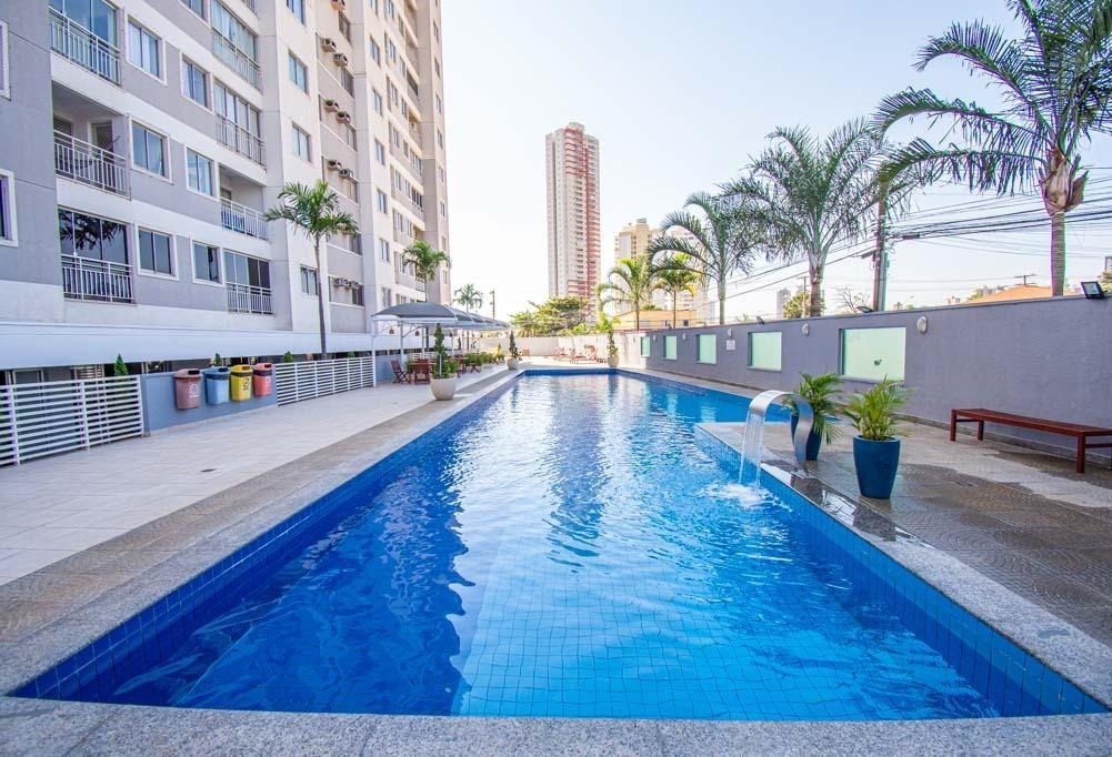 apartamento com 2 dormitórios à venda, 54 m² por r$ 215.000,00 - parque amazônia - goiânia/go - ap2793