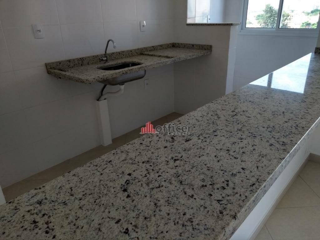 apartamento com 2 dormitórios à venda, 54 m² por r$ 250.000 - jardim das indústrias - são josé dos campos/sp - ap0773