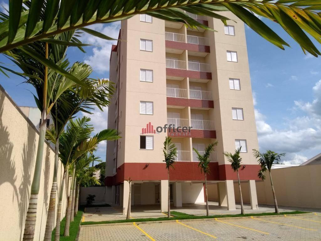 apartamento com 2 dormitórios à venda, 54 m² por r$ 250.000 - jardim das indústrias - são josé dos campos/sp - ap0775