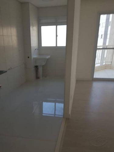 apartamento com 2 dormitórios à venda, 54 m² por r$ 275.000,00 - parque viana - barueri/sp - ap0074