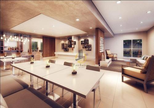 apartamento com 2 dormitórios à venda, 54 m² por r$ 362.000 - vila prudente - são paulo/sp - ap0838