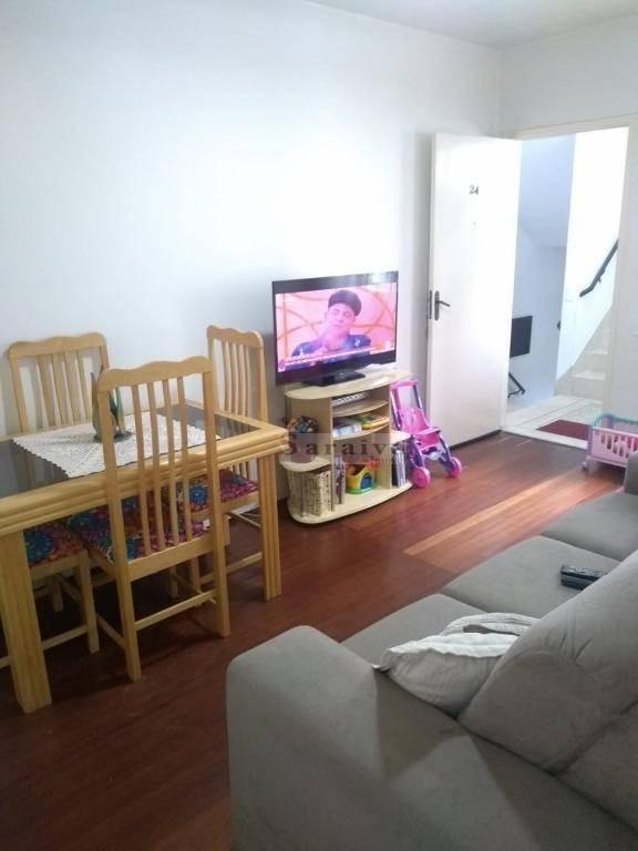 apartamento com 2 dormitórios à venda, 55 m² por r$ 190.000,00 - assunção - são bernardo do campo/sp - ap1235