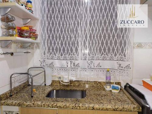 apartamento com 2 dormitórios à venda, 55 m² por r$ 218.000 - jardim valéria - guarulhos/sp - ap13577