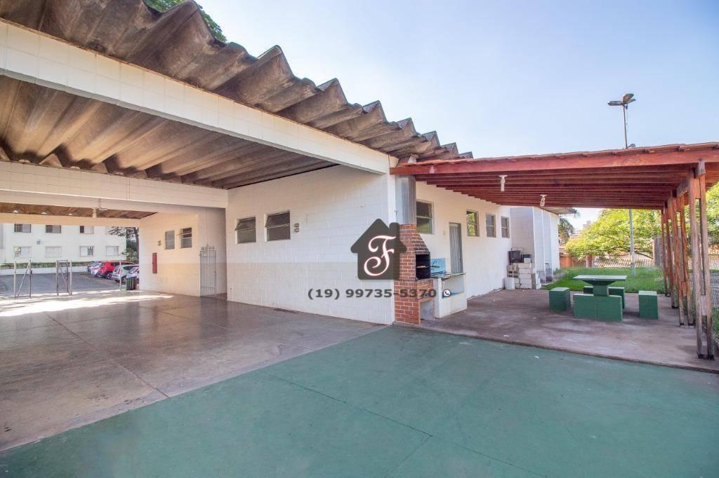 apartamento com 2 dormitórios à venda, 55 m² por r$ 264.900 - jardim miranda - campinas/sp - ap1118