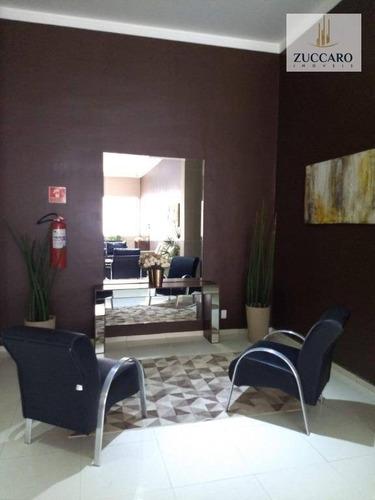 apartamento com 2 dormitórios à venda, 55 m² por r$ 265.000,00 - centro - guarulhos/sp - ap13029