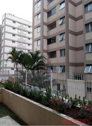 apartamento com 2 dormitórios à venda, 55 m² por r$ 280.000,00 - jardim satélite - são josé dos campos/sp - ap3005