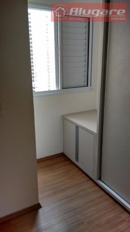 apartamento com 2 dormitórios à venda, 55 m² por r$ 280.000,00 - ponte grande - guarulhos/sp - ap1349