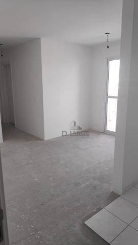 apartamento com 2 dormitórios à venda, 55 m² por r$ 295.000,00 - vila industrial - campinas/sp - ap18818