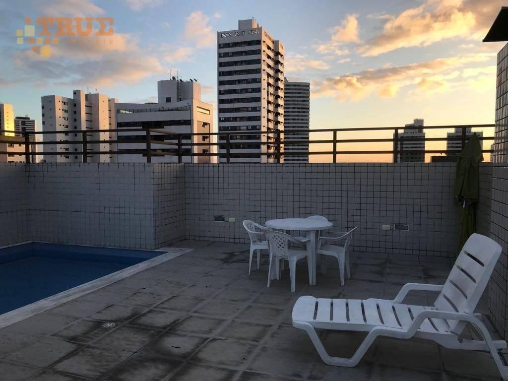 apartamento com 2 dormitórios à venda, 55 m² por r$ 299.000,00 - torre - recife/pe - ap2779