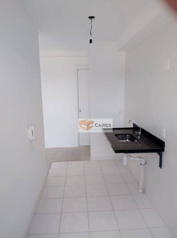 apartamento com 2 dormitórios à venda, 55 m² por r$ 300.000 - vila industrial - campinas/sp - ap7187