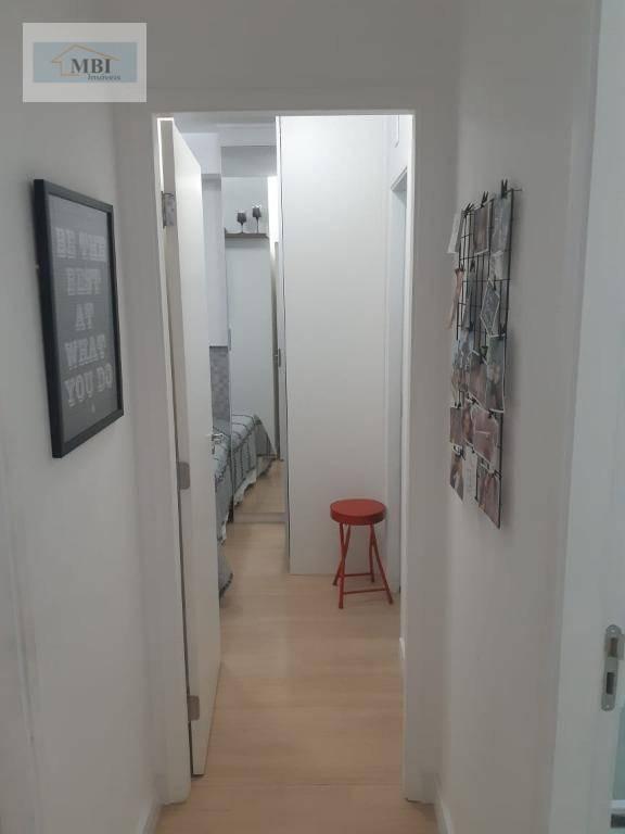 apartamento com 2 dormitórios à venda, 55 m² por r$ 490.000 - vila formosa - são paulo/sp - ap1063