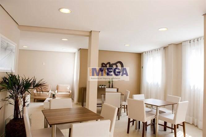apartamento com 2 dormitórios à venda, 55 m² - vila industrial - campinas/sp - ap4108