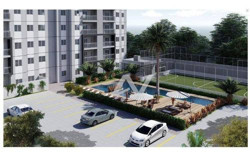 apartamento com 2 dormitórios à venda, 56 m² por r$ 199.000 - parque gabriel - hortolândia/sp - ap0656