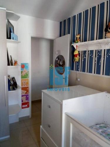 apartamento com 2 dormitórios à venda, 56 m² por r$ 225.000 - jardim d abril - são paulo/sp - ap20638. - ap20638