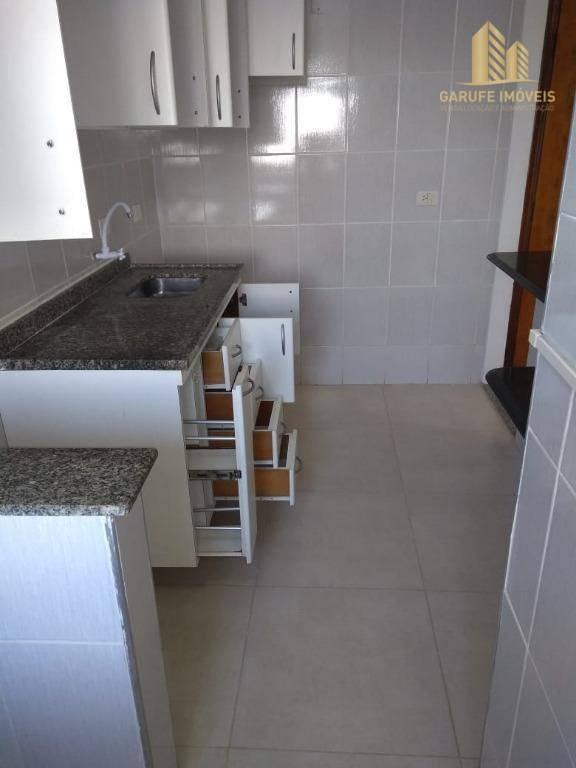 apartamento com 2 dormitórios à venda, 56 m² por r$ 255.000,00 - bosque dos eucaliptos - são josé dos campos/sp - ap1340