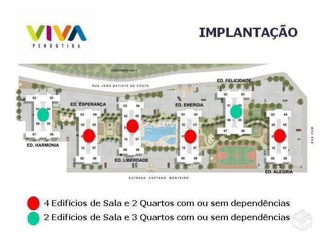 apartamento com 2 dormitórios à venda, 56 m² por r$ 350.000,00 - pendotiba - niterói/rj - ap0044
