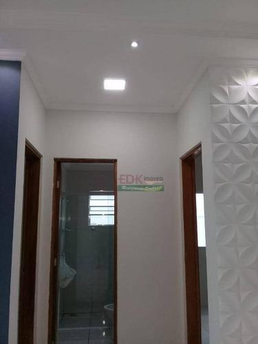 apartamento com 2 dormitórios à venda, 57 m² por r$ 165.000 - vila marly - taubaté/sp - ap2854