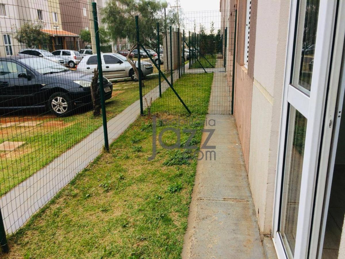 apartamento com 2 dormitórios à venda, 57 m² por r$ 179.000,00 - residencial real parque sumaré - sumaré/sp - ap2106