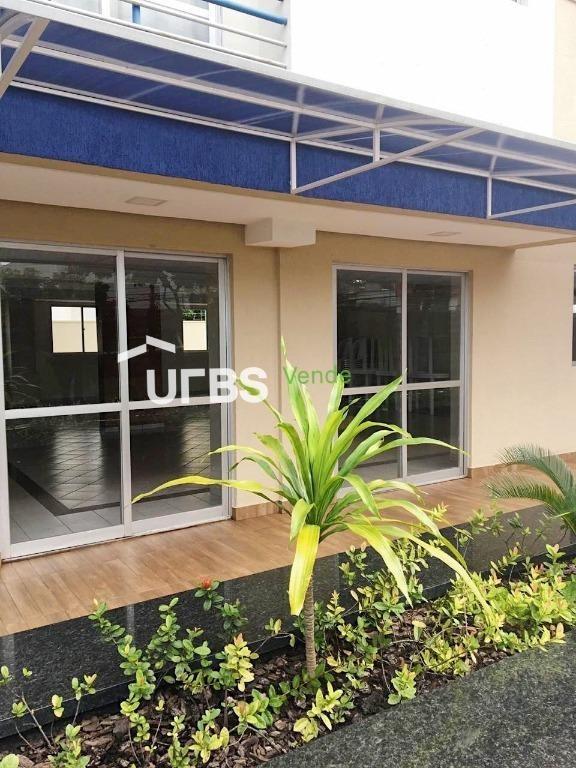 apartamento com 2 dormitórios à venda, 57 m² por r$ 180.000,00 - parque amazônia - goiânia/go - ap2620