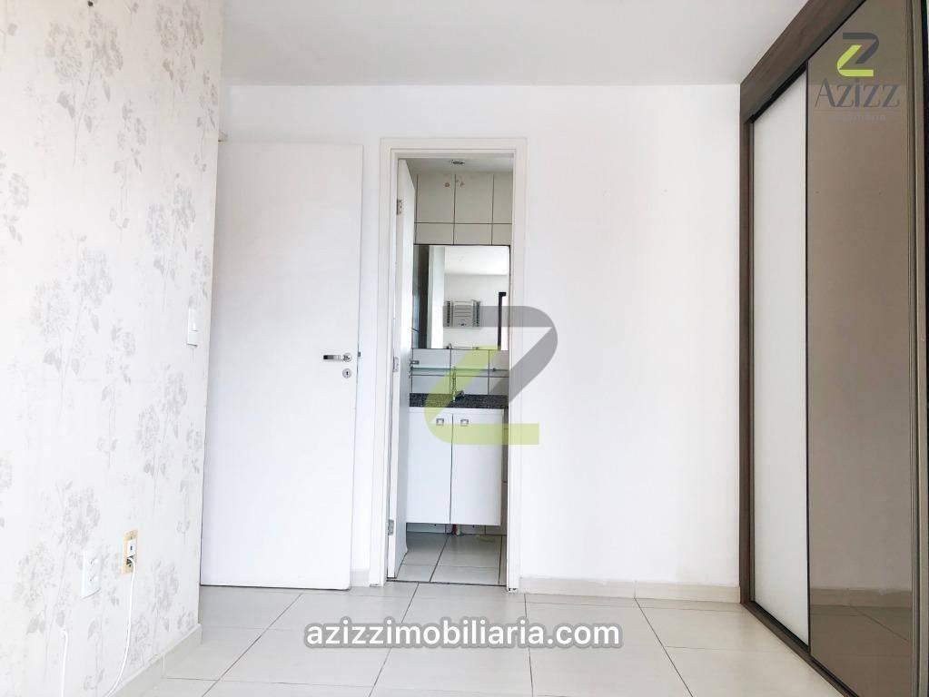 apartamento com 2 dormitórios à venda, 57 m² por r$ 235.000 - capim macio - natal/rn - ap0208