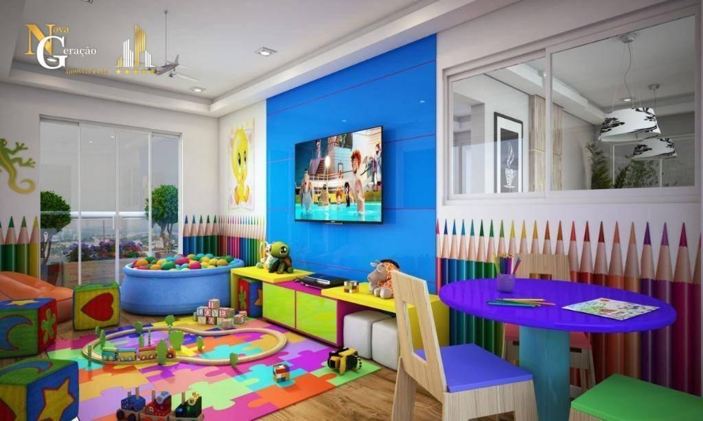 apartamento com 2 dormitórios à venda, 57 m² por r$ 251.548 - mirim - praia grande/sp - ap2472