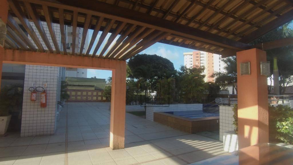 apartamento com 2 dormitórios à venda, 57 m² por r$ 255.000 - lagoa nova - natal/rnv0817 - ap0428