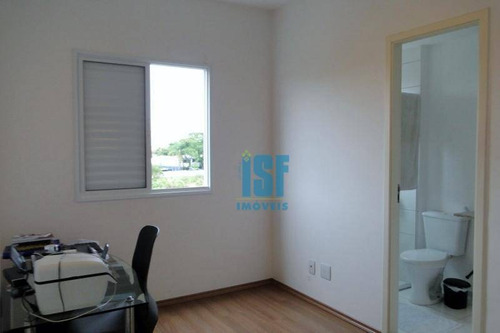 apartamento com 2 dormitórios à venda, 57 m² por r$ 280.000 - umuarama - osasco/sp - ap19918