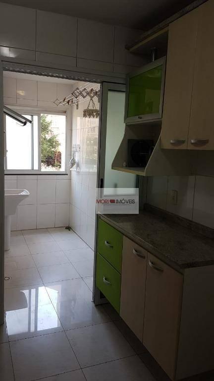 apartamento com 2 dormitórios à venda, 57 m² por r$ 320.000 - tatuapé - são paulo/sp - ap1981