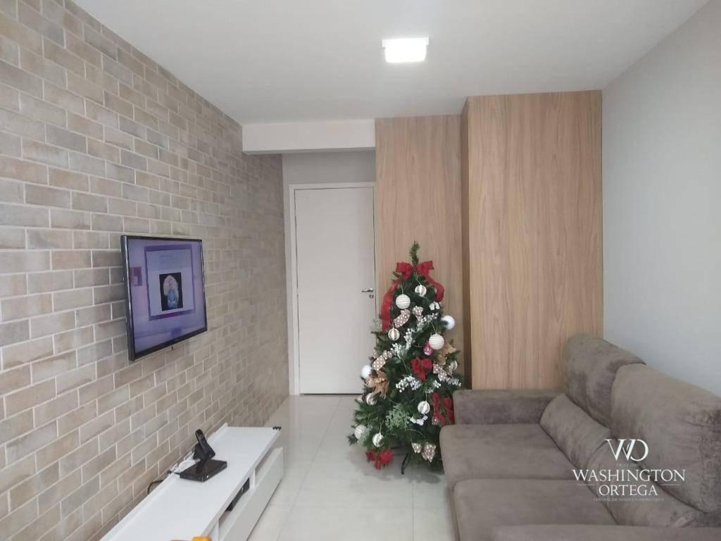 apartamento com 2 dormitórios à venda, 58 m² por r$ 155.000,00 - boneca do iguaçu - são josé dos pinhais/pr - ap0633