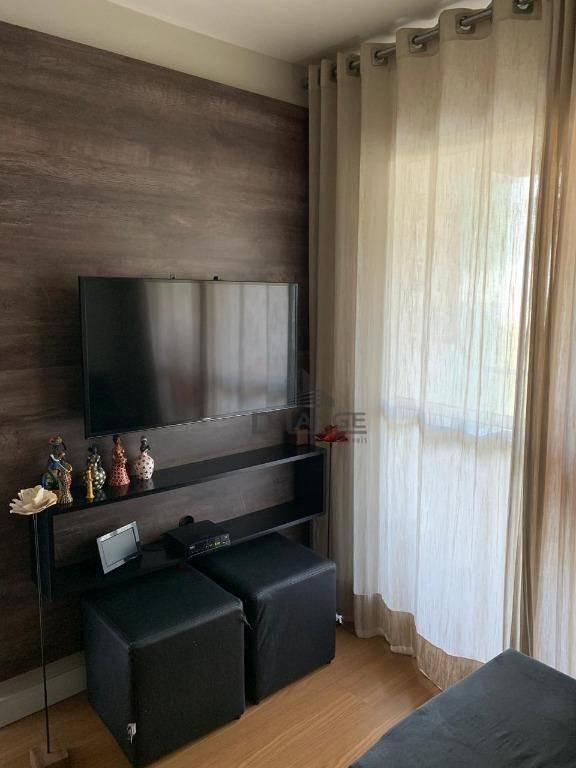 apartamento com 2 dormitórios à venda, 58 m² por r$ 255.500,00 - jardim nova europa - campinas/sp - ap18101