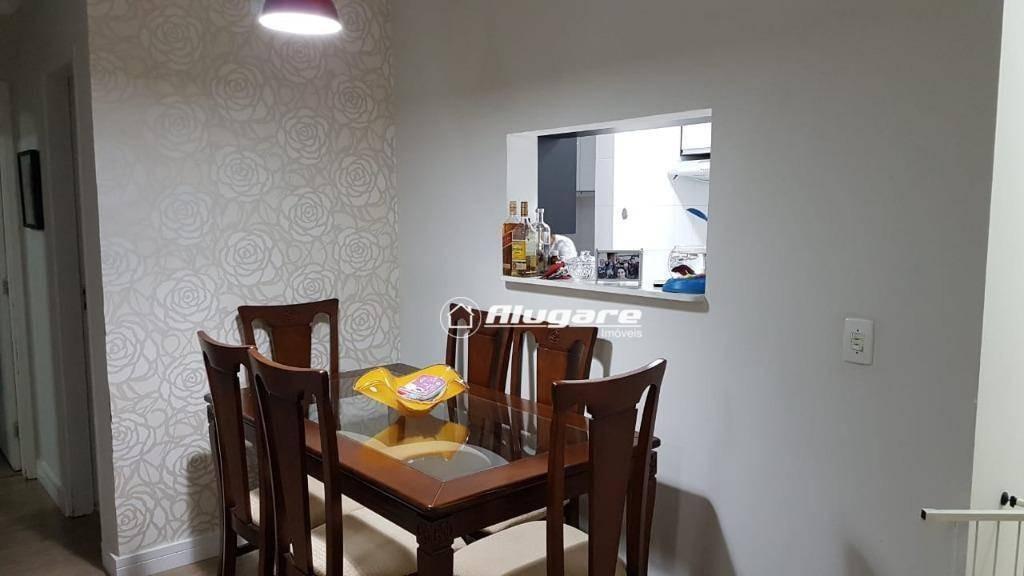 apartamento com 2 dormitórios à venda, 58 m² por r$ 299.000,00 - jardim flor da montanha - guarulhos/sp - ap2950