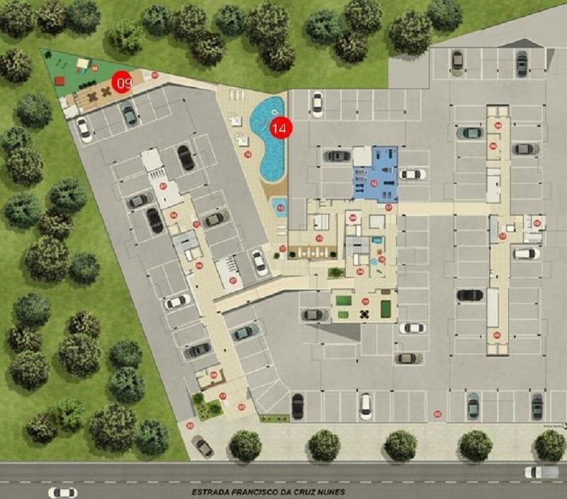 apartamento com 2 dormitórios à venda, 58 m² por r$ 310.000,00 - piratininga - niterói/rj - ap0333