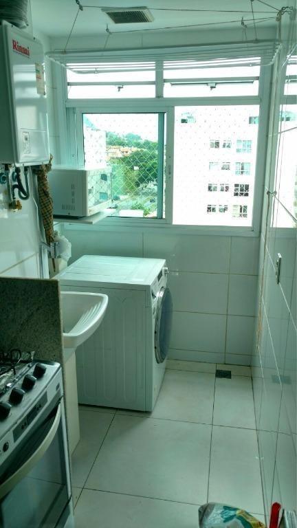 apartamento com 2 dormitórios à venda, 58 m² por r$ 340.000 - badu - niterói/rj - ap1174