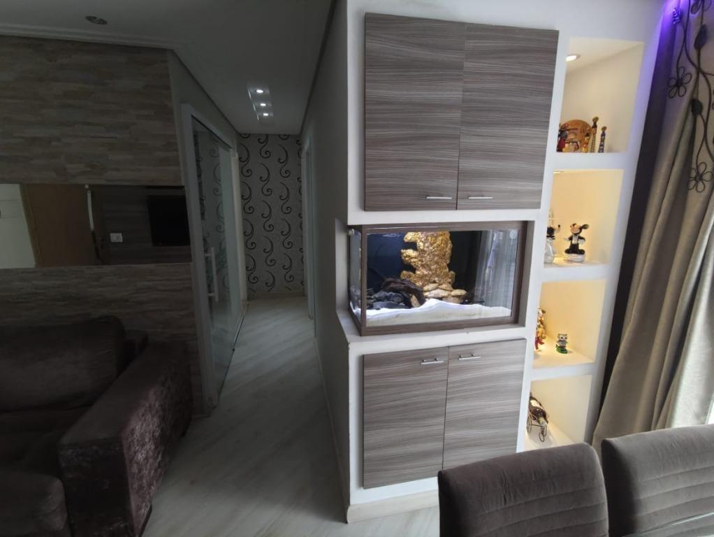 apartamento com 2 dormitórios à venda, 58 m² por r$ 345.000 - jardim flor da montanha - guarulhos/sp - cód. ap6962 - ap6962