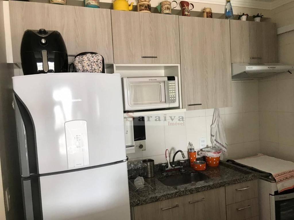 apartamento com 2 dormitórios à venda, 58 m² por r$ 362.000,00 - rudge ramos - são bernardo do campo/sp - ap1199