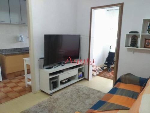 apartamento com 2 dormitórios à venda, 59 m² por r$ 235.000 - taboão - são bernardo do campo/sp - ap1729